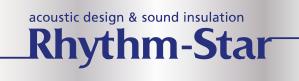 物理的な計算に基づいた防音設計ならリズム・スターへご相談ください。