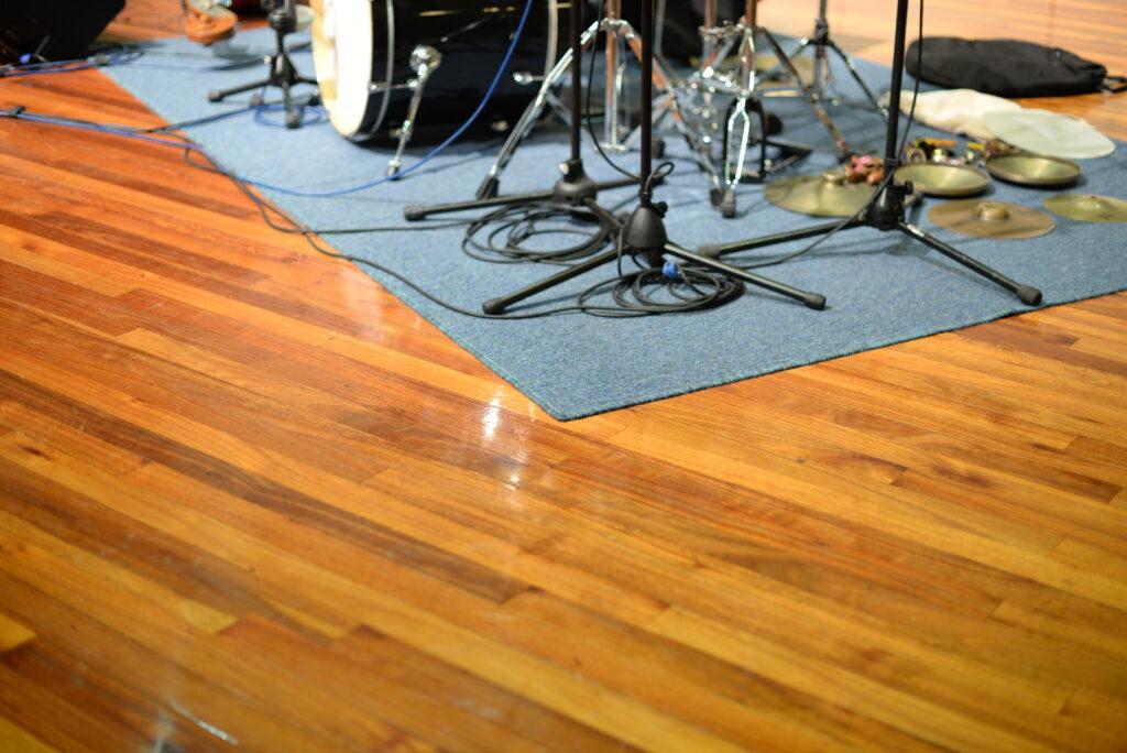 ドラム防音室の防振対策